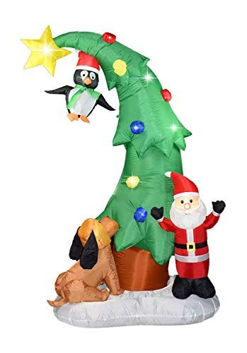 Pin On Inflatable Christmas Decorations Outdoor