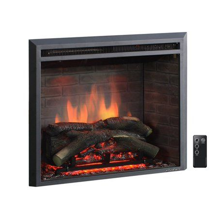 Puraflame 26 Western Electric Fireplace Insert With Remote