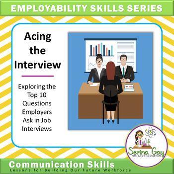 Employability Skills Series Acing The Interview Digital Learning Employability Skills Leadership Training Soft Skills