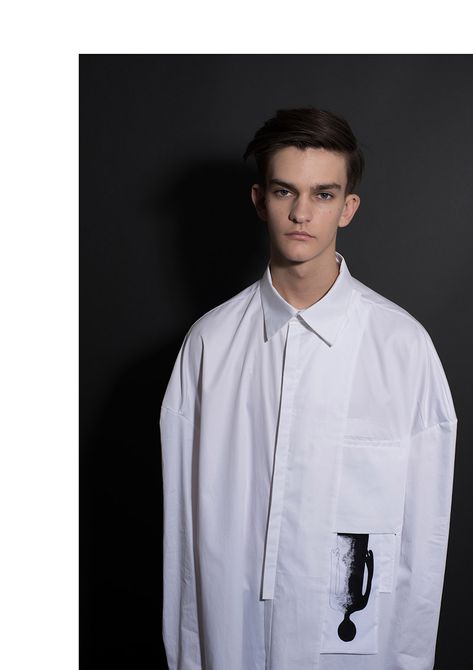 """Xue Feng present us his graduate collection titled """"Findding Love – A Wonderful Trip of Identifying Yourself"""". The lookbook features George Muncey shot by Peter Berko."""