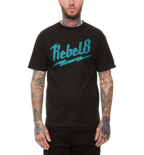 95fa08c8d Bolted Black Tee