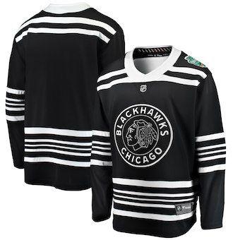 763bf89e0d6 Chicago Blackhawks Black 2019 Winter Classic Hockey Jersey  blackhawks  nhl   chicago
