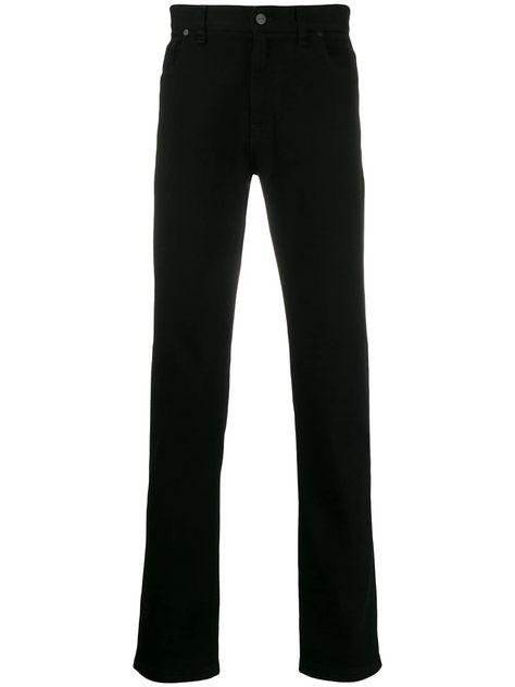 Fendi straight-leg jeans - Black