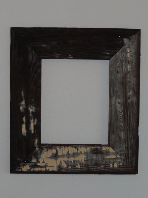 8x10 Reclaimed Barn Siding Picture Frame By Yellowdogcreations 30 00 Barn Siding Picture Frames Frame