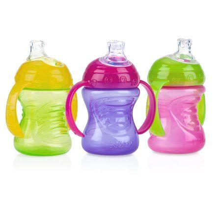 2-Pack Silicon Sippy Gripper Spouts  Tops For Nuby No-Spill No BPA