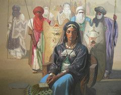 Hocine Ziani The Queen Of Touareg 2007 Art Berber Tuareg People