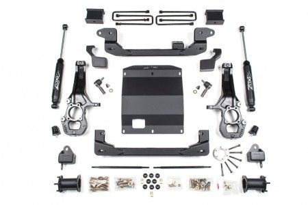 Zone 5 5 Suspension System Chevy Gmc Colorado Canyon 4wd In 2020
