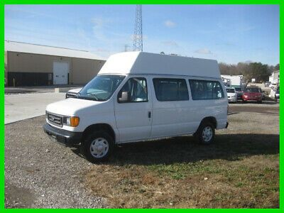 Ad Ebay Link 2005 Ford E250 5 4l High Top With Wheelchair