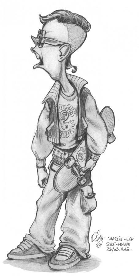dessin de personnage graffiti