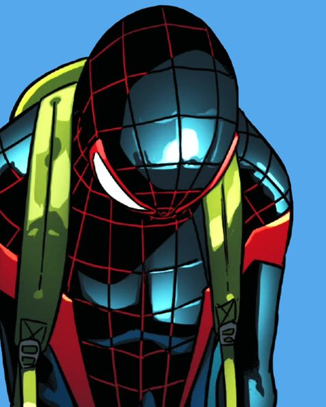 The Many Expressions of Miles Morales in Spider-Man #8