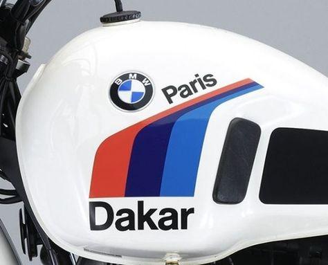Bmw R80g S Aufkleber Label Set Fur Den Tank Der R 80 G S Paris Dakar