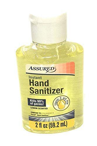 Assured Hand Sanitizer Hand Sanitizer With Aloe 8 Oz Bottles 2