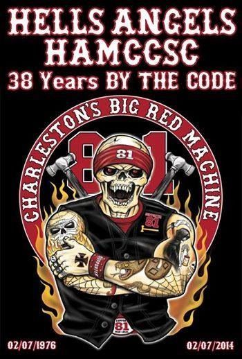 Support your Charleston sc chapter | Biker | Hells angels, Hell on