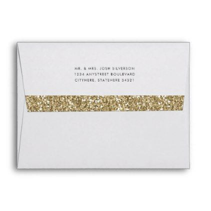 Gold glitter a2 envelope wreturn address birthday cards gold glitter a2 envelope wreturn address birthday cards invitations party diy personalize customize bookmarktalkfo Choice Image
