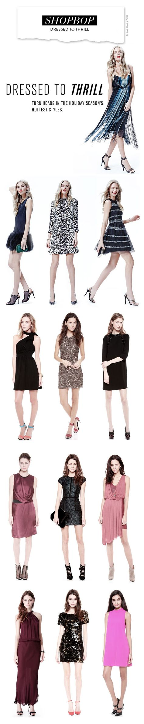 Shopbop – Dressed to Thrill
