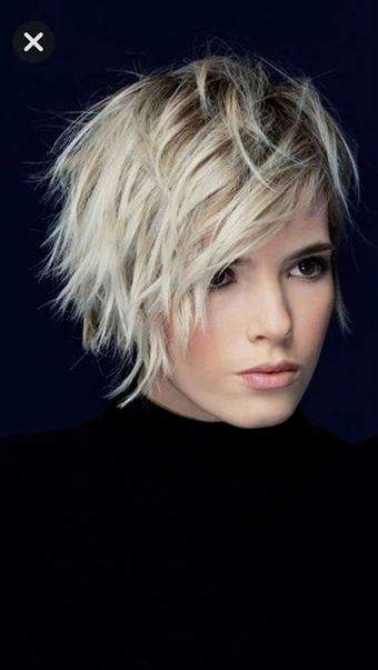 Best Pics Of Layered Short Hair For Round Face Short Hair Styles For Round Faces Short Hair With Layers Messy Short Hair