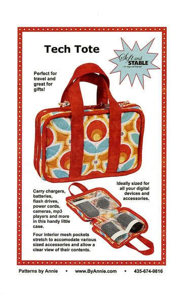 Tech Tote By Patterns By Annie Pba193 Power Code Carrying Case