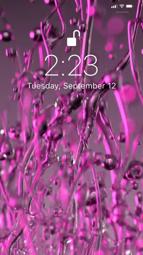 Amazing live wallpaper for your iPhone from Everpix Live🤩 #wallpaper #background #livewallpaper #purple