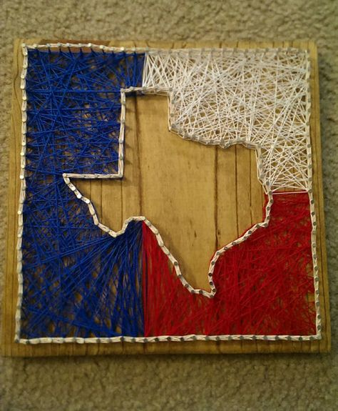 Texas string art a personal favorite from my etsy shop httpswww texas string art a personal favorite from my etsy shop httpsetsylisting286102399texas home decor texas string art texas texas home prinsesfo Image collections