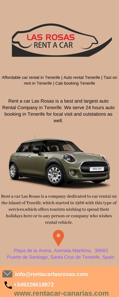 Affordable Car Rental In Tenerife