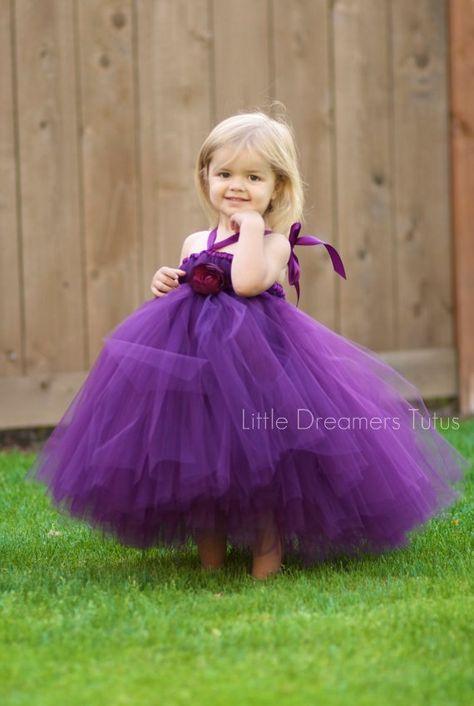 Perfectly Plum Tutu Dress