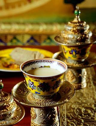 Tibetan Butter Tea - I've always wanted to try this!