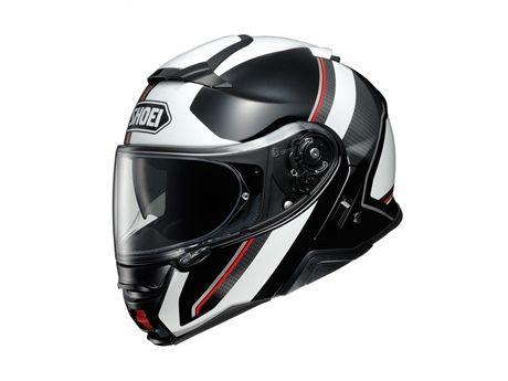 Hjalm Shoei Neotec Ii Excursion Tc 6 White Motorcykelhjalm Hjalm Funktionalism