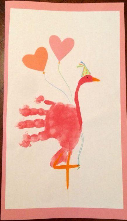 Birthday Crafts For Grandma From Kids Hand Prints 32 New Ideas Grandma Birthday Card Birthday Card Craft Birthday Gifts For Grandma
