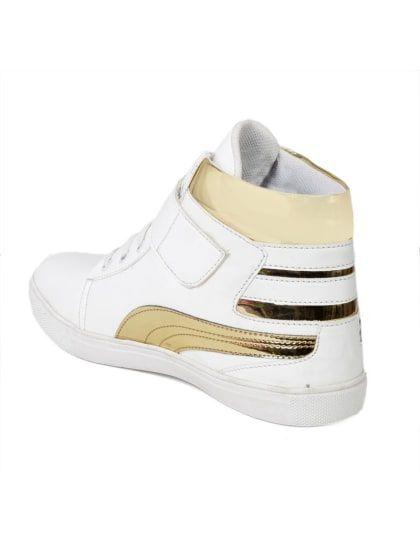 Stylish Casualwear White Ankle Length
