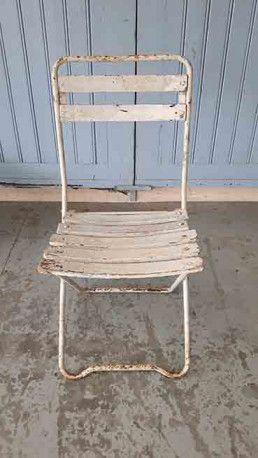 Chaise De Jardin Vintage Chaise De Jardin Chaise Mobilier Jardin