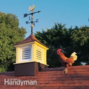 How to Build a Cupola from Family Handyman Magazine