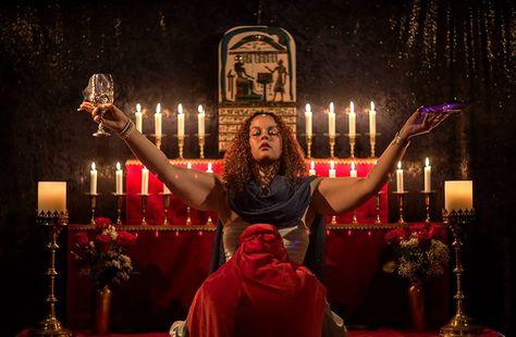 Liber XV: The Gnostic Mass.  Photo courtesy of Golden Lotus Lodge (2014, e.v.)