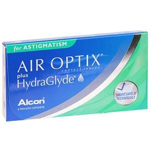 Air Optix Plus Hydraglyde For Astigmatism In 2020 Monthly Contact Lenses Buy Contact Lenses Toric Contact Lenses