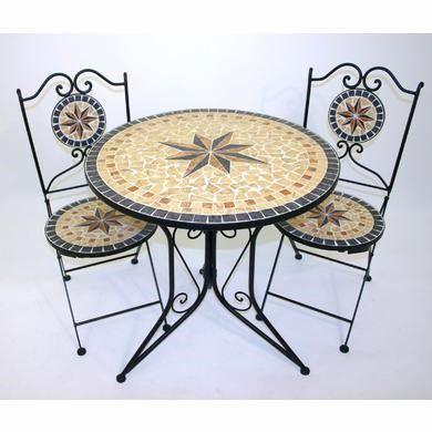 Mosaik Bistro Tisch Und Stuhle Tisch Und Stuhle Stuhle Tisch