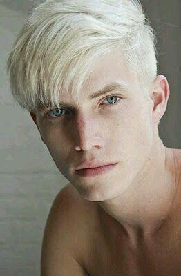 Image Result For Men White Blonde Hair Guys With White Hair