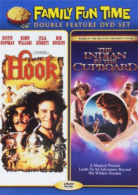 Hook And Indian In The Cupboard Double Feature Dvd 5 00 Indian In The Cupboard Robin Williams Movies Family Fun Time
