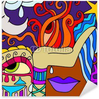 Resultado De Imagen Para Caras Abstractas Dibujos Abstractos Abstracto Dibujos