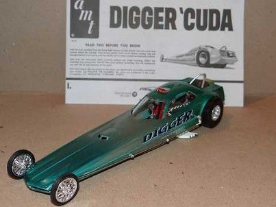 Plymouth Hemi Cuda Dragster Cool Model Kits Pinterest