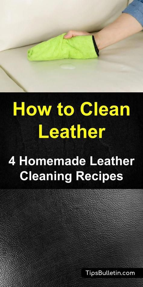 4 Homemade Leather Cleaning Recipes - leather purse cleaner ...