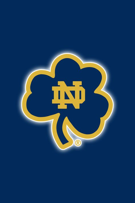 Get a Set of 12 Officially NCAA Licensed Notre Dame Fighting Irish iPhone Wallpapers