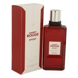 Habit Rouge Sport Eau De Toilette Spray By Guerlain Perfume Fresh Fragrances Eau De Toilette