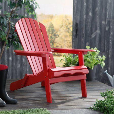 Patio Garden Red Adirondack Chairs Adirondack Chair Red