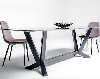 Table Base Dining Table Base Table Metal Base Handmade Furniture Modern Table Base Metal Table Base