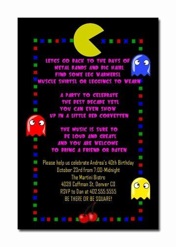 35 80s Party Invitation Template In 2020 Mens Birthday Party Party Invite Template 80s Birthday Parties