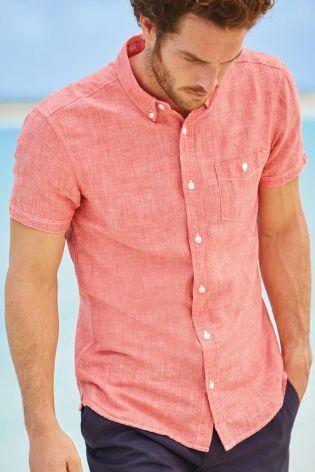 Buy Linen Shirt online today at Next: India | Season's Casual ...