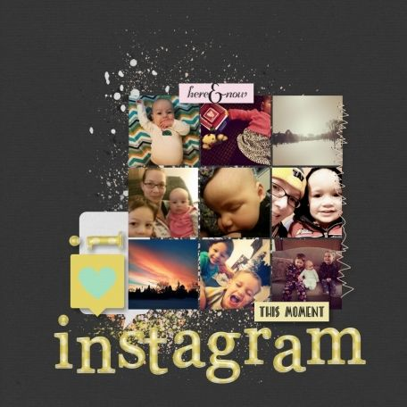 I love instagram using Here and Now Bundle at www.pixelscrapper.com