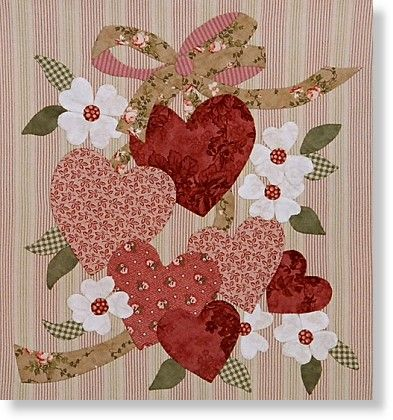 103 best A QUILT - AP - Fresh From the Quilt Cave images on ... : valentine quilt patterns - Adamdwight.com