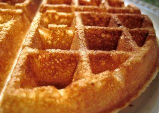 Crispy Buttermilk Waffles Recipe Food Com Recipe Waffle Recipes Buttermilk Waffles Best Waffle Recipe