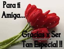 Frases Con Imagenes Para Amigas Rosas Flores Con Mensajes