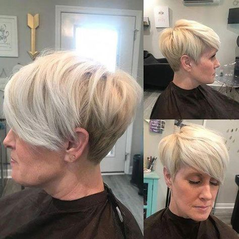 New Short Haircuts for Older Women with Fine Hair - The UnderCut